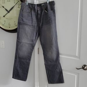 CREMIEUX STRAIGHT FIT GRAY JEANS 40X32